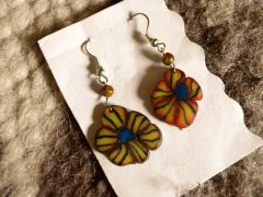 "Earrings ""flower"""