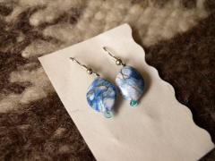 "Earrings ""blue"""